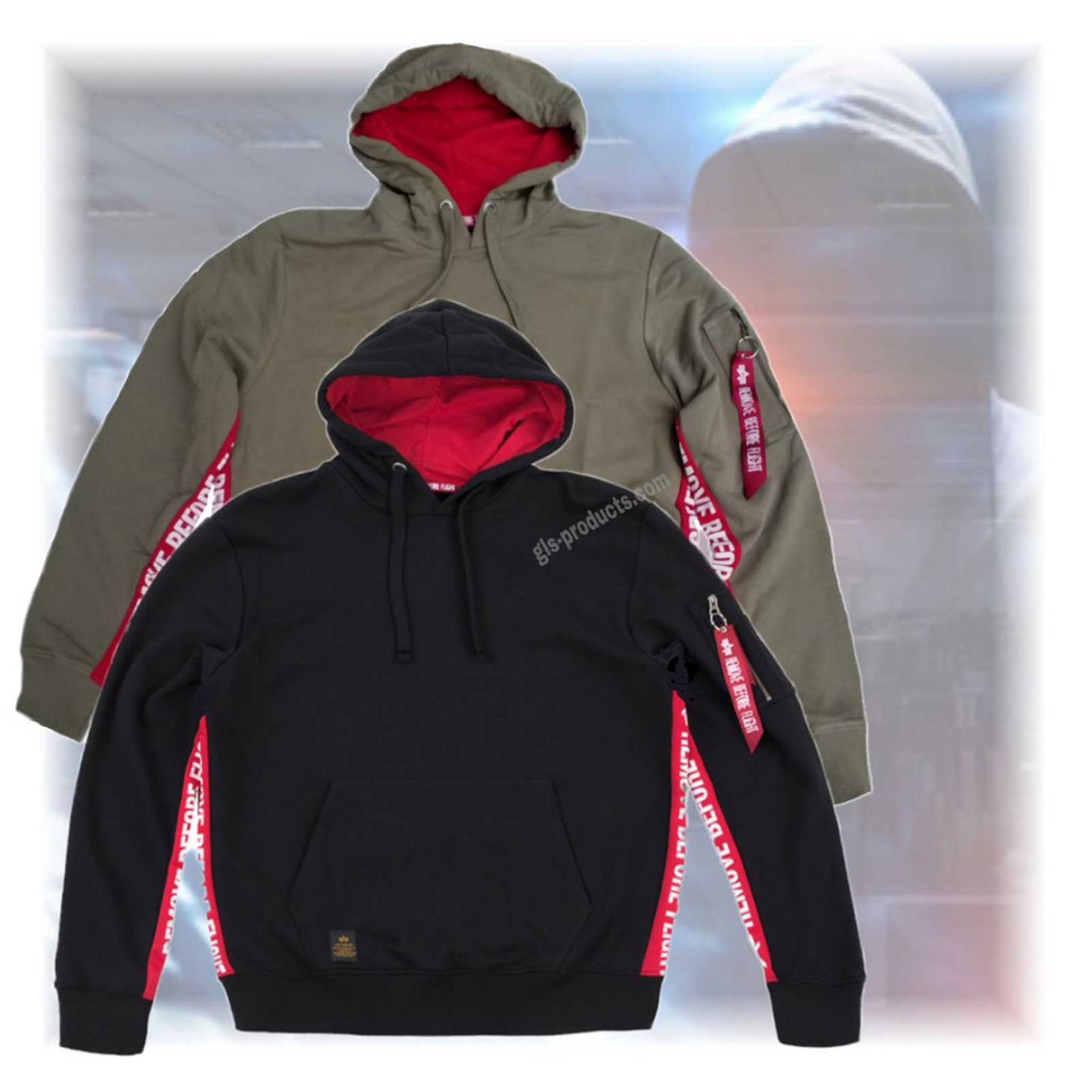 Alpha Industries RBF Inlay Hoody 196306  – Picture 1