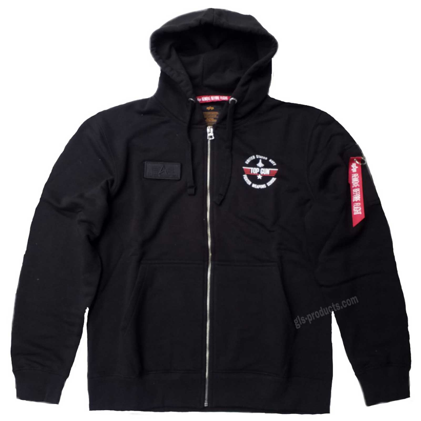 Alpha Industries Top Gun Zip Hoody 178323 – Picture 2
