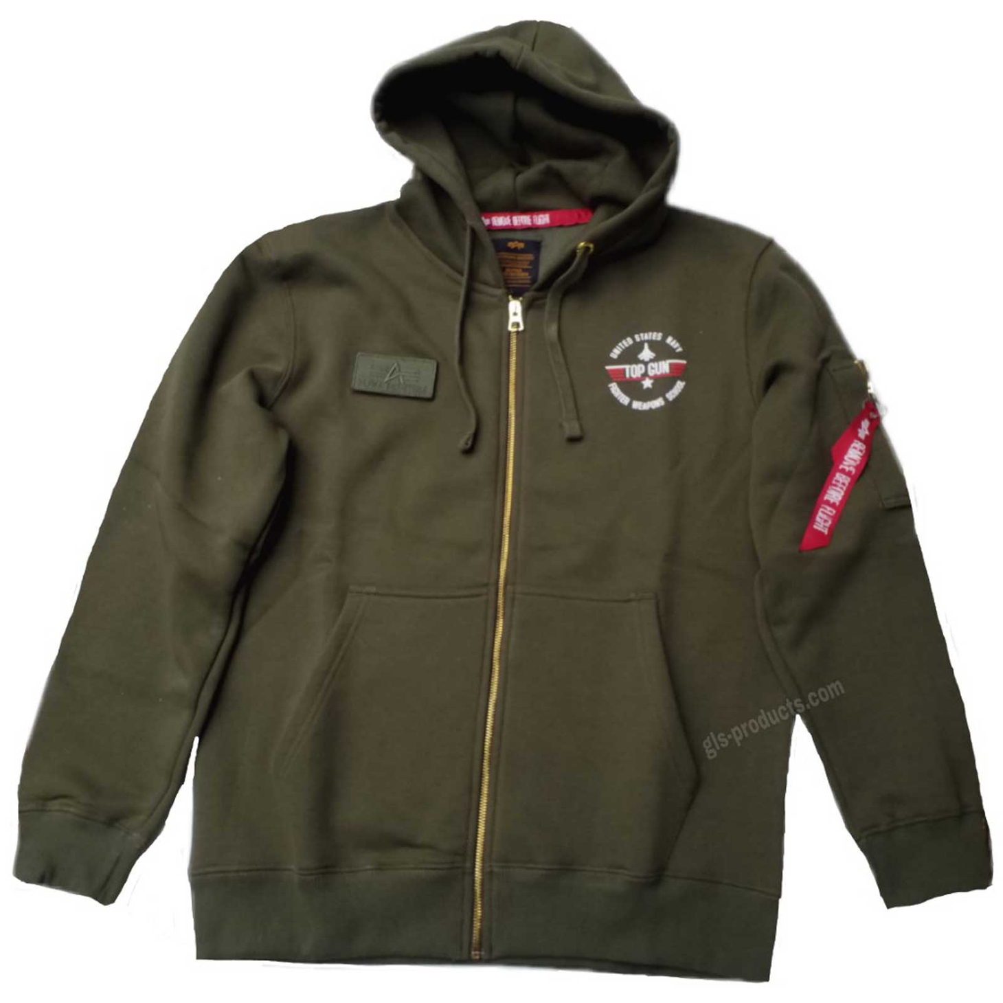 Alpha Industries Top Gun Zip Hoody 178323 – Picture 3