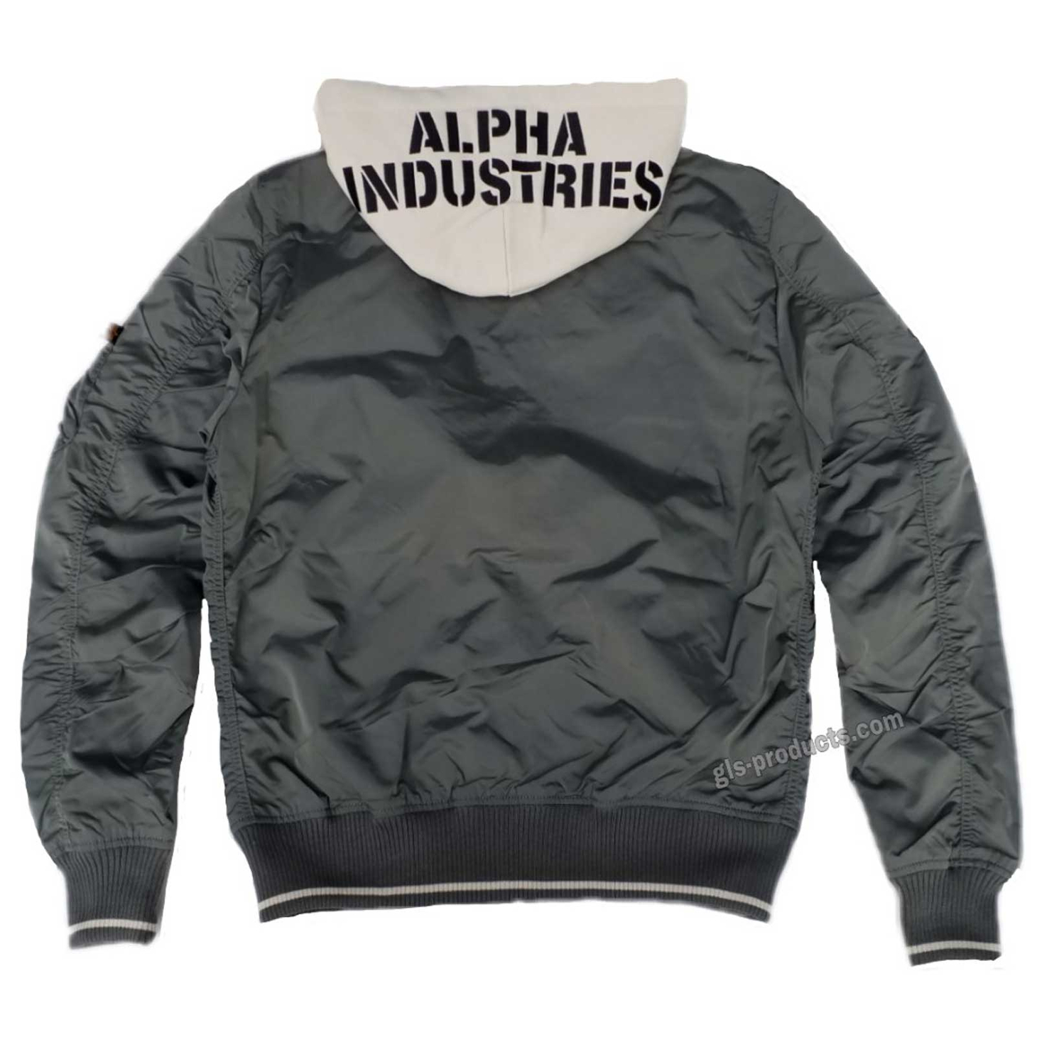 Alpha Industries MA-1 TT Hood Patch 196109 Air Crew – Picture 3