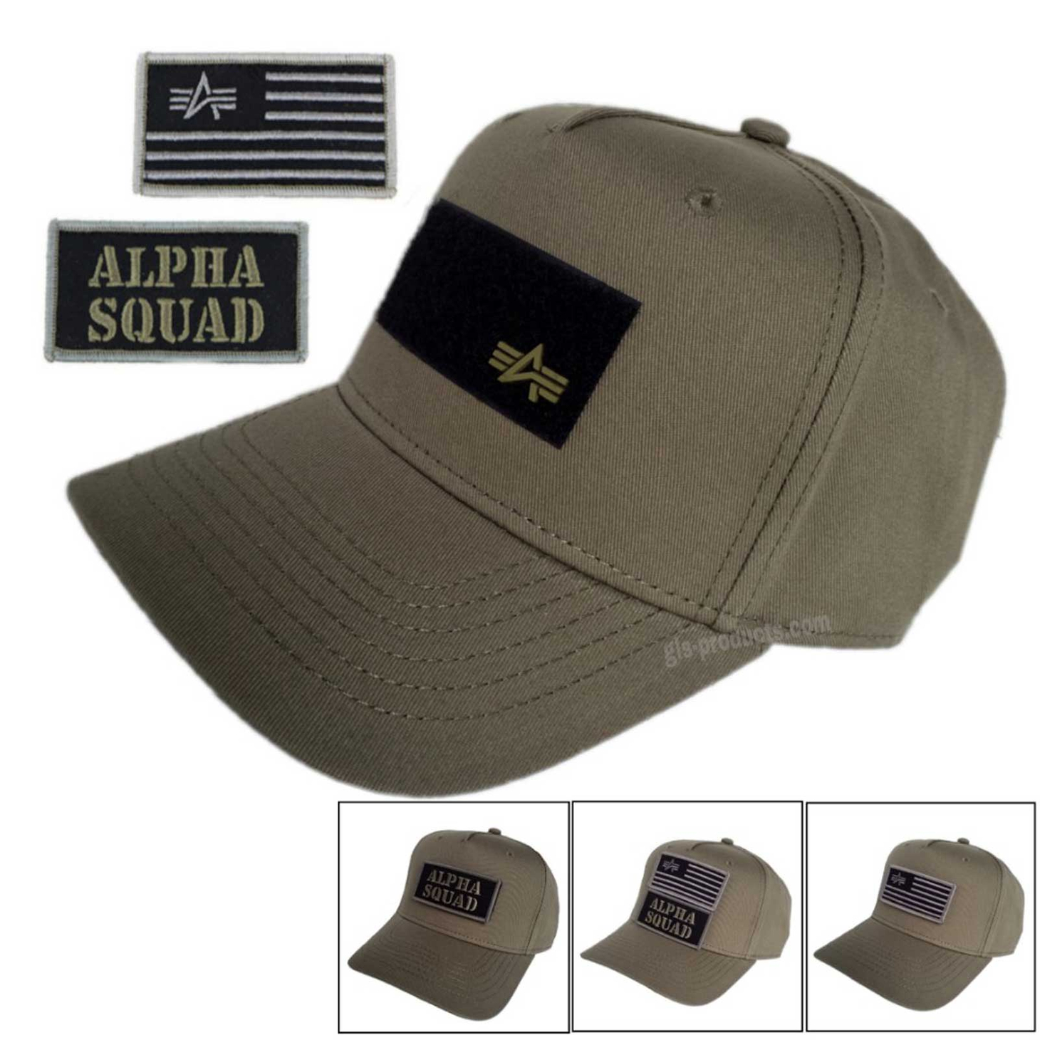 Alpha Industries VLC Patch Cap 196901 with 2 Patches – Picture 4