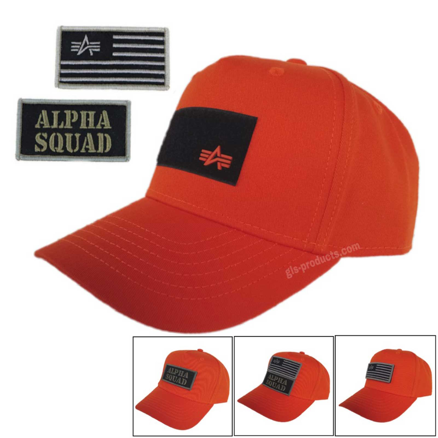 Alpha Industries VLC Patch Cap 196901 with 2 Patches – Picture 3