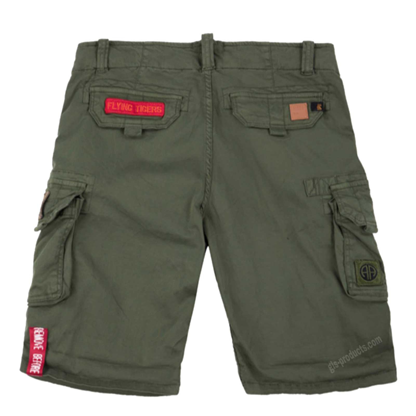 Alpha Industries Crew Short Patch 186209 – Picture 5