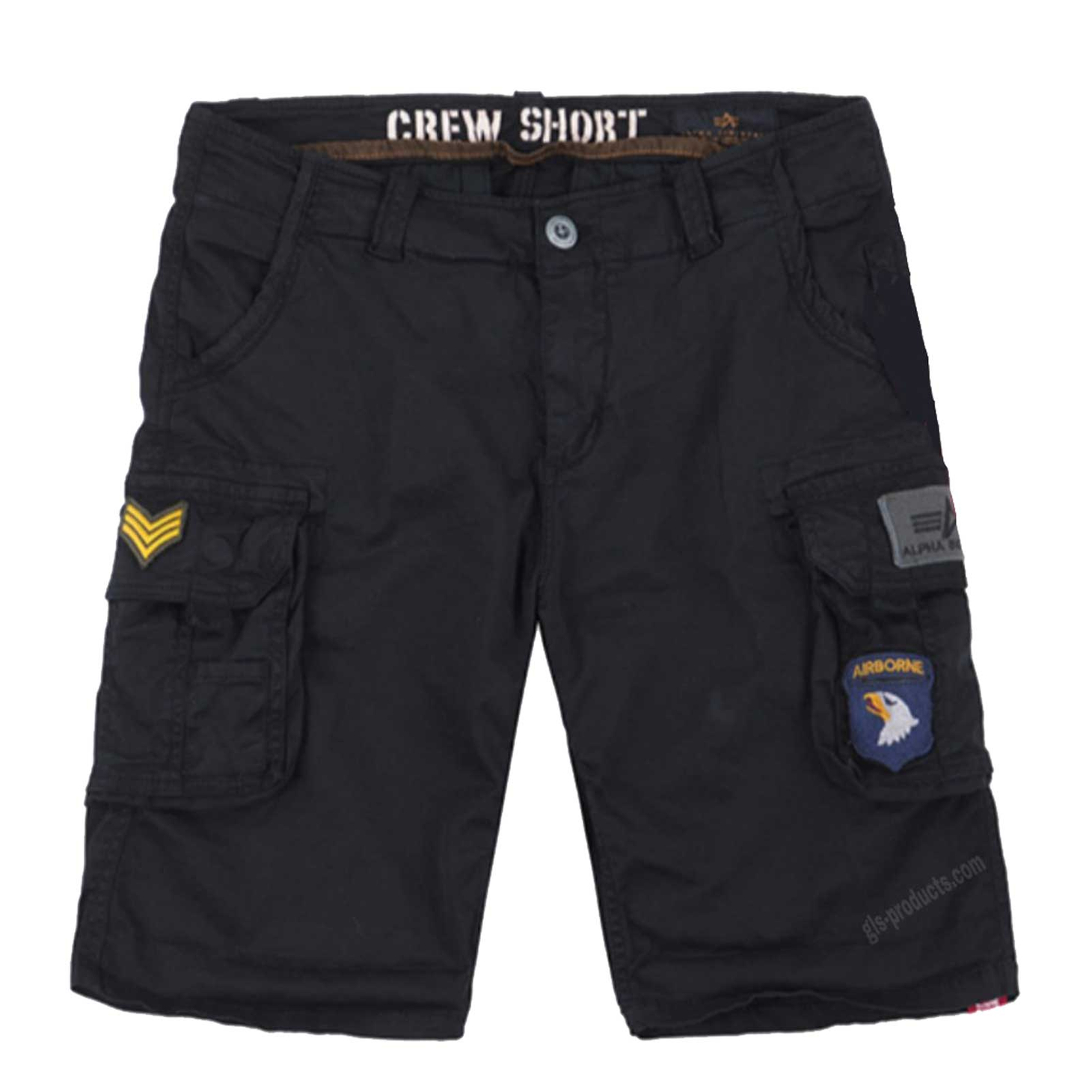 Alpha Industries Crew Short Patch 186209 – Picture 3