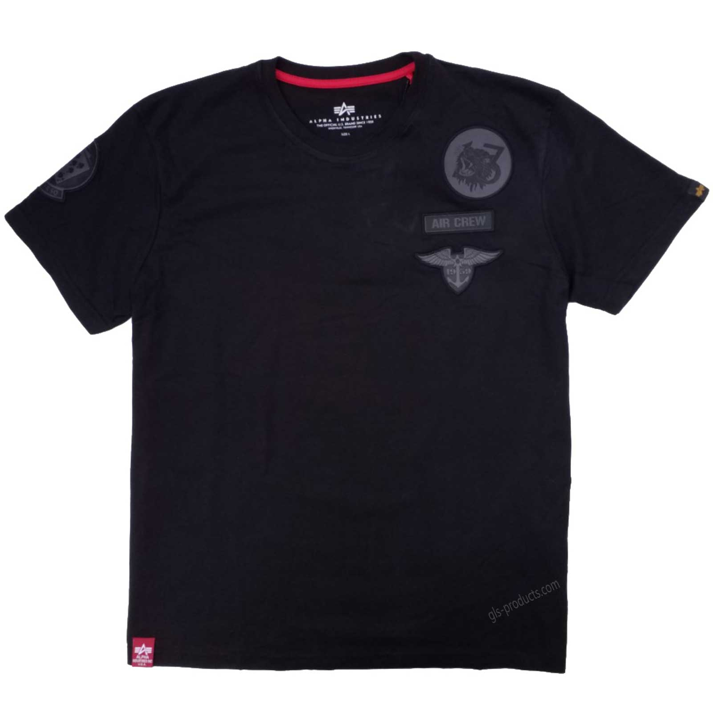 Alpha Industries Air Crew T 196519 T-Shirt – Picture 2