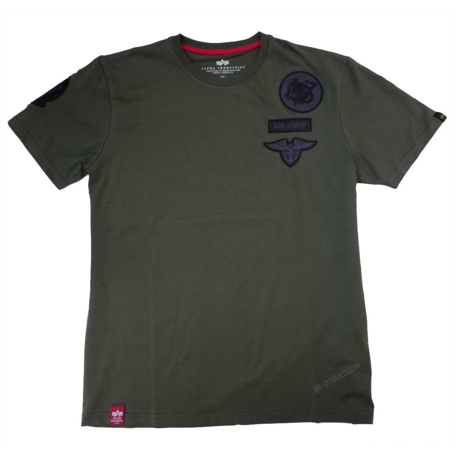 Alpha Industries Air Crew T 196519 T-Shirt – Picture 3