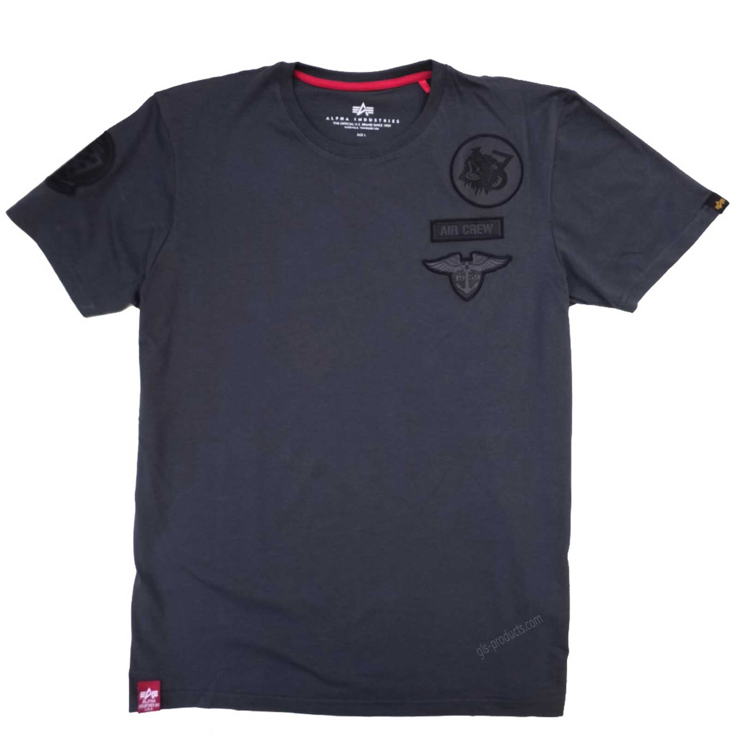 Alpha Industries Air Crew T 196519 T-Shirt – Picture 4