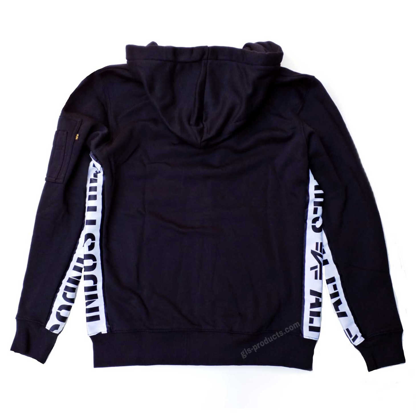 Details about Alpha Industries AI Inlay Zip Hoody 198361 Sweat Jacket 80% Cotton 20% Polyester
