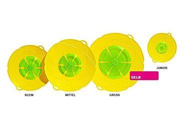 Kochblume Überkochschutz gelb 29 cm
