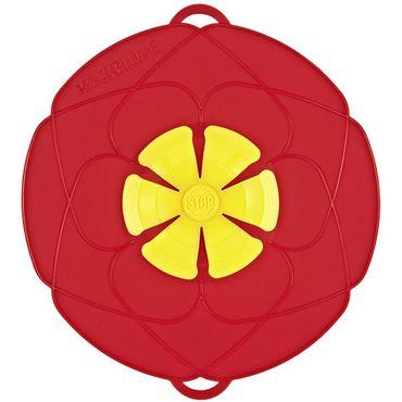Kochblume Überkochschutz rot 29 cm