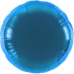 Folienballon - Ø 45cm - Rund - Hellblau 001