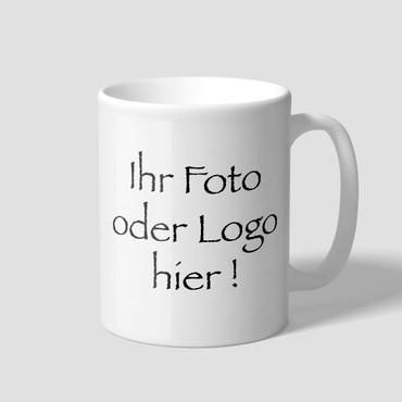 10 x Individuelle Fototasse, Tasse mit Logo, bedruckte Werbetasse, Tassendruck – Bild 1