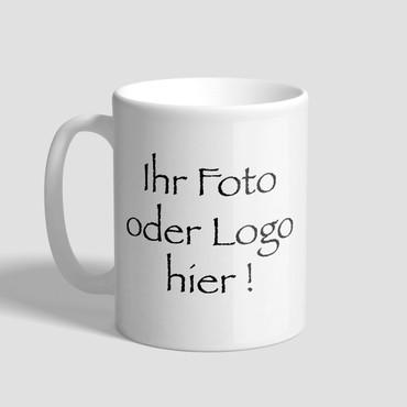 10 x Individuelle Fototasse, Tasse mit Logo, bedruckte Werbetasse, Tassendruck – Bild 2