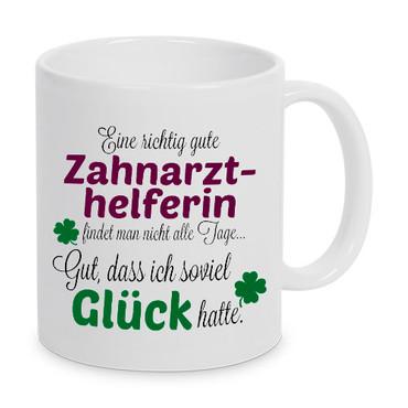 Eine gute Zahnarzthelferin... - Tasse - Kaffeebecher - Geschenk