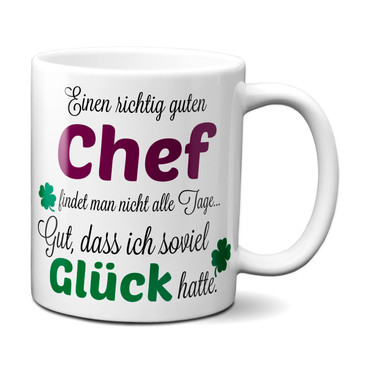 Einen guten Chef... - Tasse - Kaffeebecher - Geschenk – Bild 1
