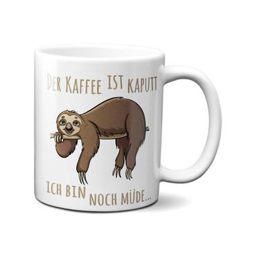 Der Kaffee ist kaputt, ich bin noch müde - Tasse – Bild 1