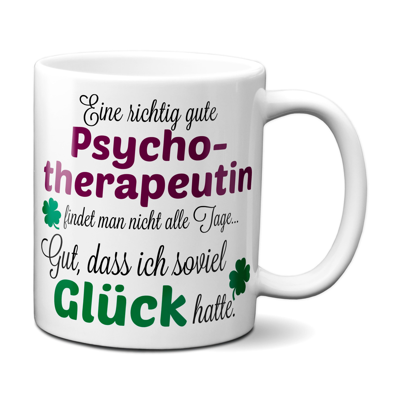 Eine gute Psychotherapeutin... - Tasse - Kaffeebecher - Geschenk ...