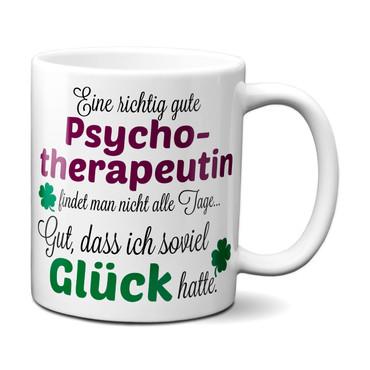 Eine gute Psychotherapeutin... - Tasse - Kaffeebecher - Geschenk – Bild 1