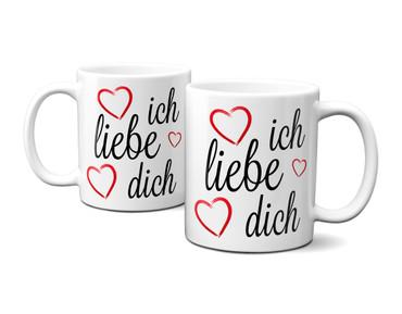 Ich liebe Dich ! (mit 3 Herzen) – Bild 3