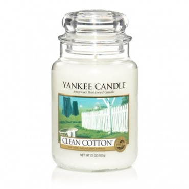Clean Cotton - 623 g - Yankee Candle