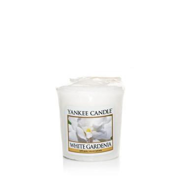 White Gardenia Votivkerze