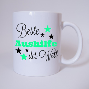 Beste Aushilfe der Welt - Tasse – Bild 1