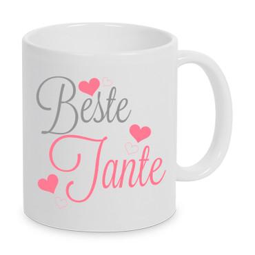 Beste Tante - Tasse – Bild 1