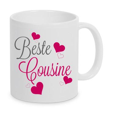 Beste Cousine - Tasse – Bild 1