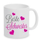 Beste Schwester - Tasse 001