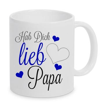Hab Dich lieb Papa - Tasse – Bild 1