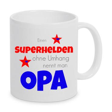 Einen Superheld ohne Umhang nennt man Opa - Tasse