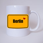 I love Berlin - Tasse 001