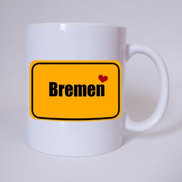 I love Bremen - Tasse