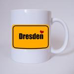 I love Dresden - Tasse 001