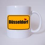 I love Düsseldorf - Tasse 001