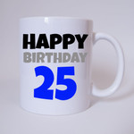 Happy Birthday 25 - Tasse 001