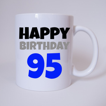 Happy Birthday 95 - Tasse