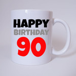 Happy Birthday 90 - Tasse 001
