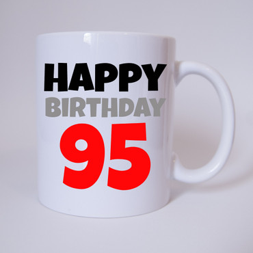 Happy Birthday 95 - Tasse