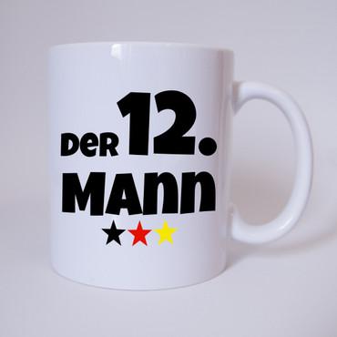 Der 12. Mann - Deutschland Fussball - Tasse - Fan Tasse