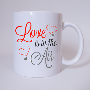 Love ist in the Air - Tasse - Kaffeebecher – Bild 1