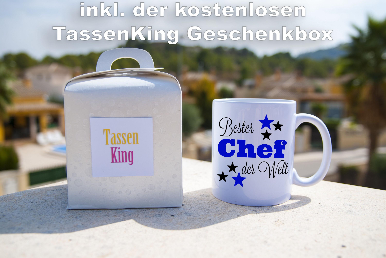 Bester Chef der Welt - Tasse - Kaffeebecher Firma / Job