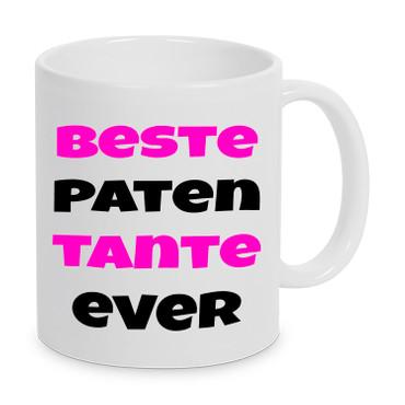 Beste Patentante Ever- Tasse