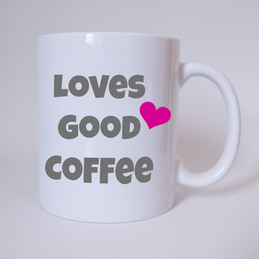 Love Good Coffee - Tasse – Bild 1