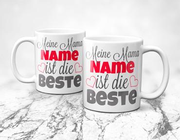 "Meine Mama ""Name"" ist die Beste - individueller Name  – Bild 8"