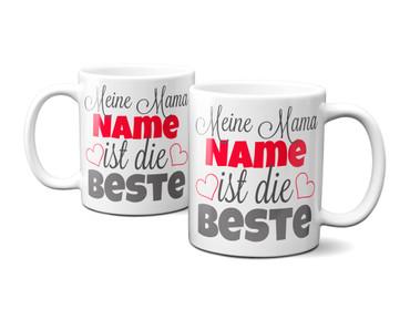 "Meine Mama ""Name"" ist die Beste - individueller Name  – Bild 3"