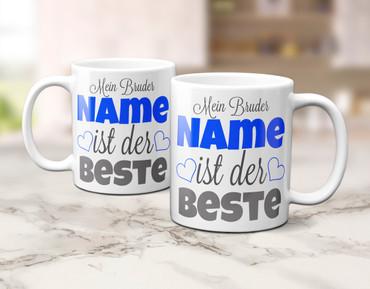 "Mein Bruder ""Name"" ist der Beste - individueller Name – Bild 5"