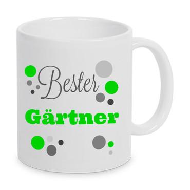 Bester Gärtner - Tasse - Kaffeebecher - Geschenk