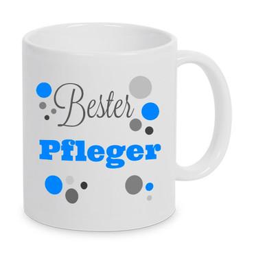 Bester Pfleger - Tasse - Kaffeebecher - Geschenk