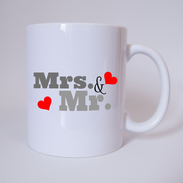 Mr. & Mrs. - Tasse